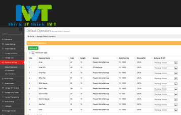 IWT - Multi Recharge Software Mobile Recharge API For B2B and B2C